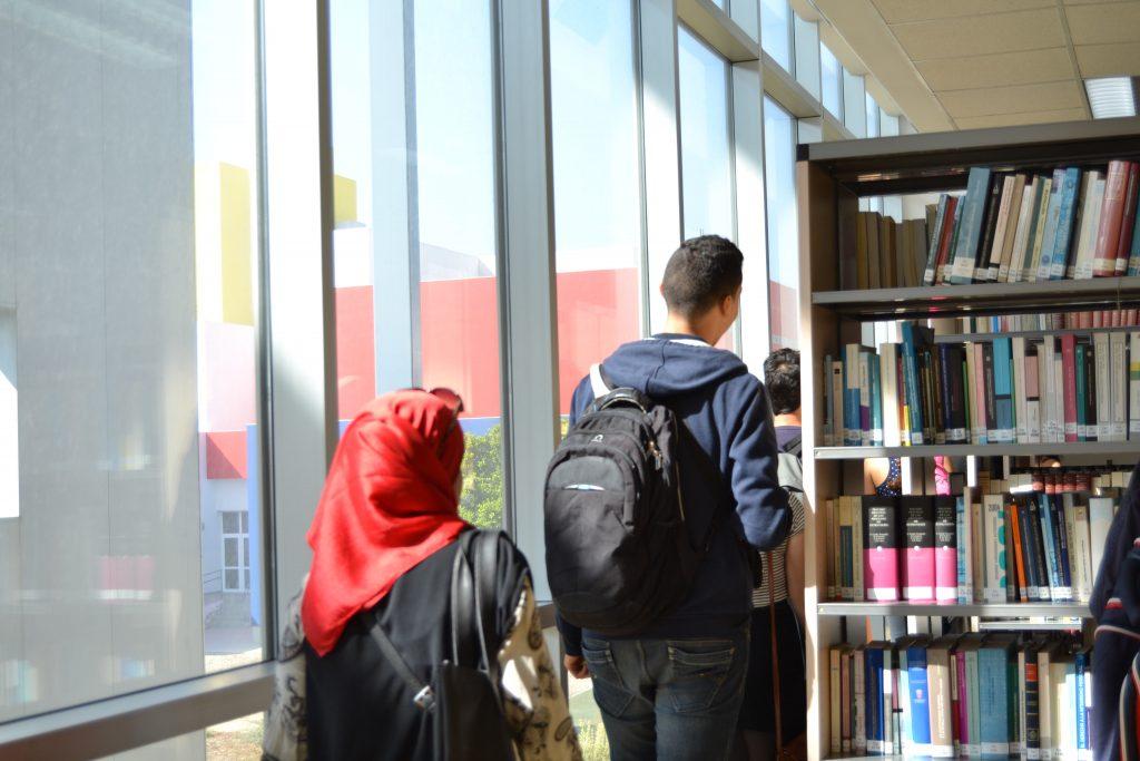 Un grupo de estudiantes del instituto de Bachillerato bilingüe 'L.P. Bourguiba' visitaron el Campus de Jerez, en un proyecto de la Embajada de España en Túnez