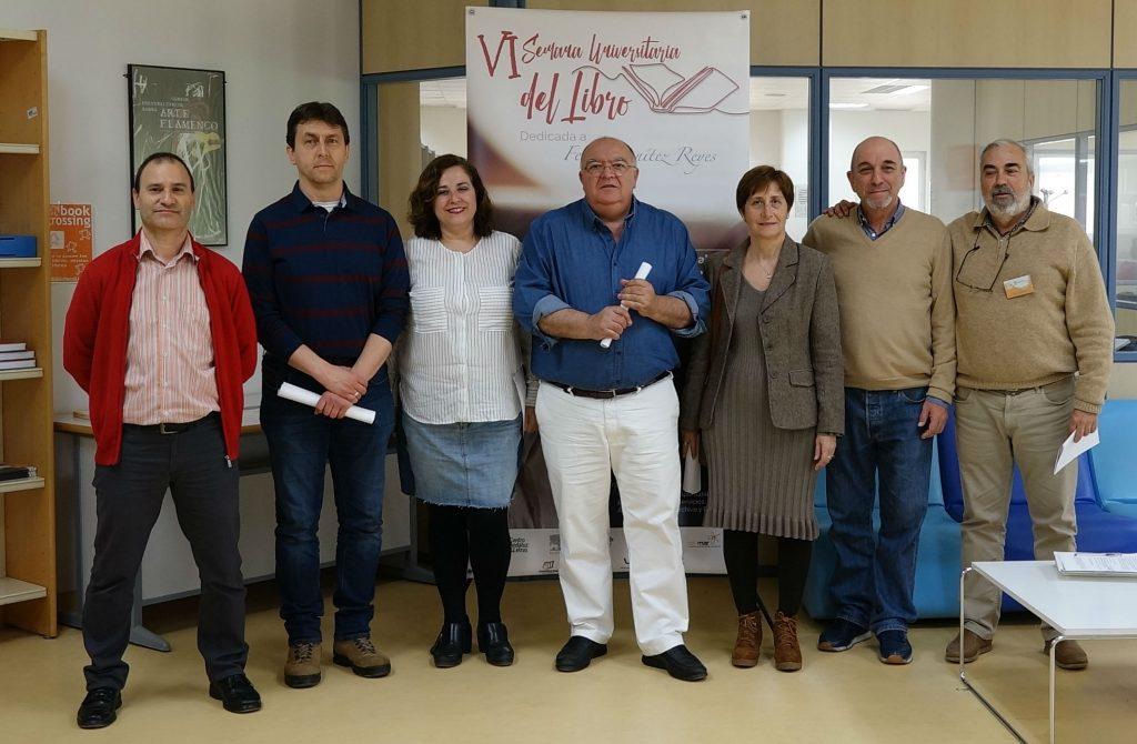 La Biblioteca del Campus de Jerez acoge un recital de poesías de Felipe Benítez Reyes