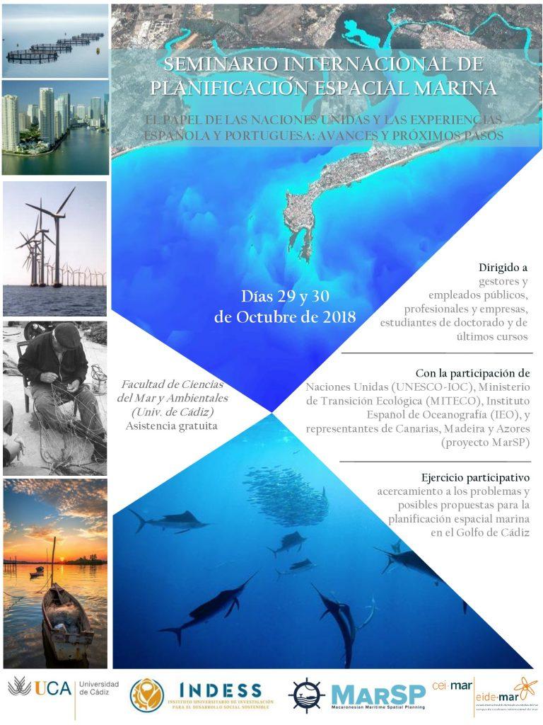 La Universidad de Cádiz acoge el Seminario Internacional de Planificación Espacial Marina