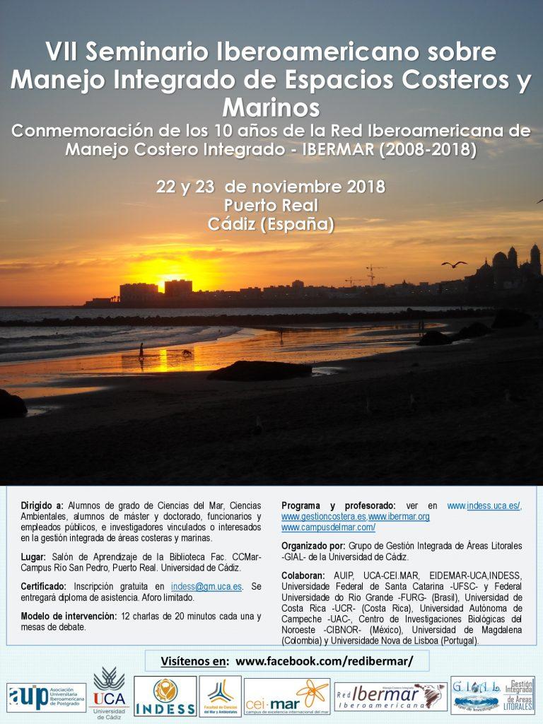 VII Seminario Iberoamericano sobre Manejo Integrado de Espacios Costeros y Marinos