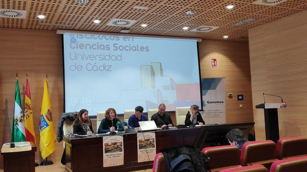 """Presentación """"La precariedad laboral en Jerez. Escáner de la zona rural"""""""