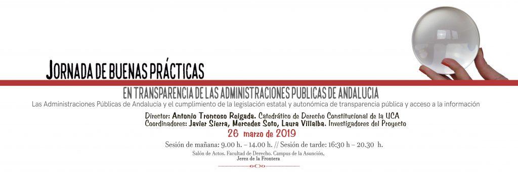 Jornada de buenas prácticas en transparencia de las administraciones públicas de Andalucía