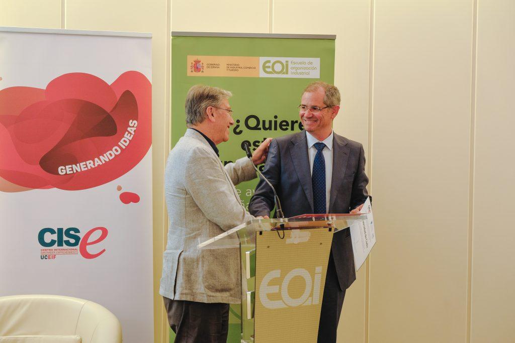 La UCA recibe el reconocimiento del Centro Internacional Santander Emprendimiento por su participación destacada en el proyecto GUESSS en España.