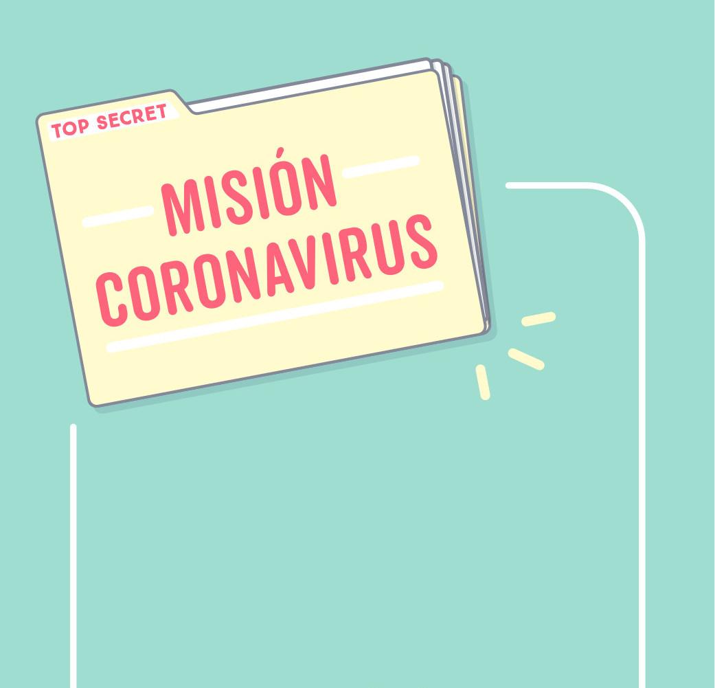 Mision coronavirus. autor: m2.wonderful