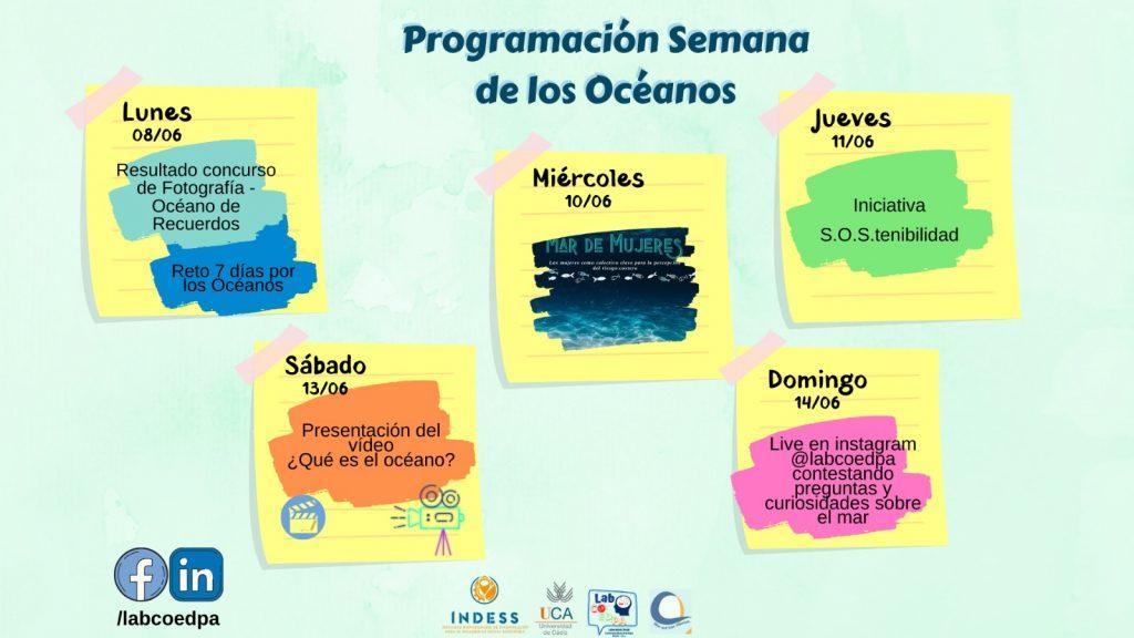 IMG El INDESS se sumó a la celebración del día mundial de los océanos con una agenda semanal de actividades