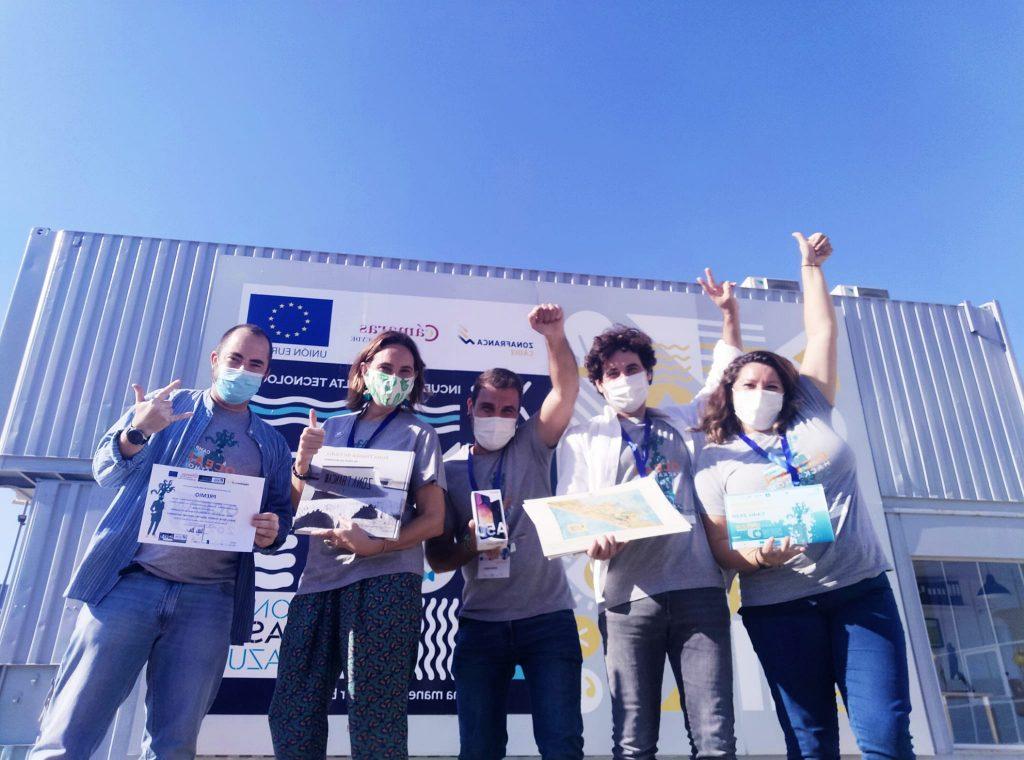 IMG El INDESS obtiene el 2º premio en el Ocean Hackathon 2020 gracias al trabajo del Laboratorio Social COEDPA y sus entidades asociadas en el desarrollo del reto Aplicación móvil para promover un Turismo Azul y Seguro más inteligente, inclusivo y sostenible