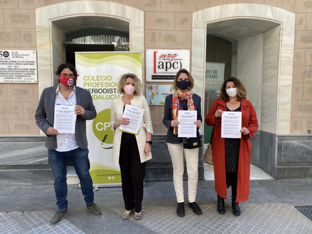 EL INDESS promueve la adhesión del Colegio Profesional de Periodistas de Andalucía y de la Asociación de la Prensa de Cádiz al Decálogo de medios frente al cambio climático en el marco de la Agenda 2030