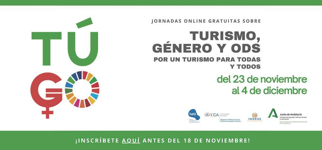 Turismo, género y ODS: Por un turismo para todas y todos