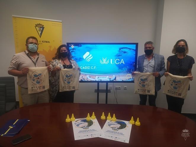 El INDESS  y el Cádiz Club de Futbol se alinean para promover iniciativas conjuntas de desarrollo social sostenible relacionadas con el cuidado del medioambiente