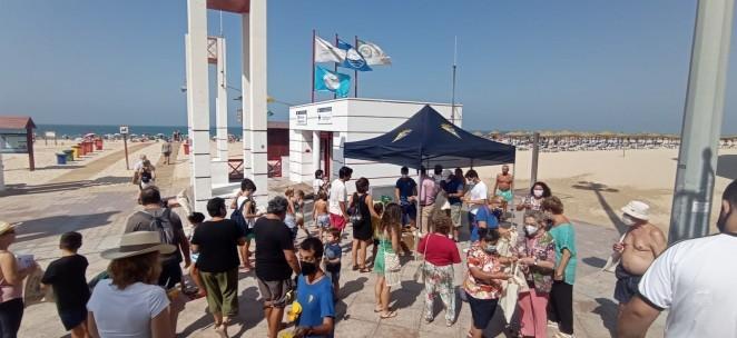 El INDESS promueve la campaña 'Convivir con los Riesgos' para informar a la población sobre los distintos tipos de riesgos costeros  y fomentar una cultura de la prevención